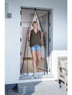 Insektenschutz-Vorhang »Magnet«, BxH: 120x240 cm, anthrazit