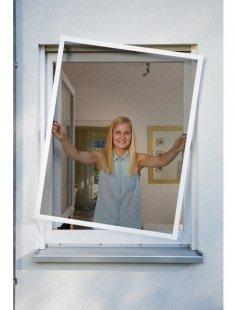 Insektenschutz-Fenster »PLUS«, BxH: 130x150 cm, weiß