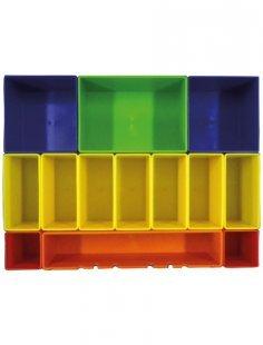 Aufbewahrungsbox »P-83652«, Farbig mit 13 Fächern