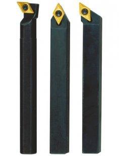 Stahlhaltersatz »8 x 8 x 90 mit HM-Wendeplatten«, (3-tgl.)