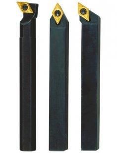 Stahlhaltersatz »10x10x90 mit HM-Wendeplatten«, (3-tgl.)