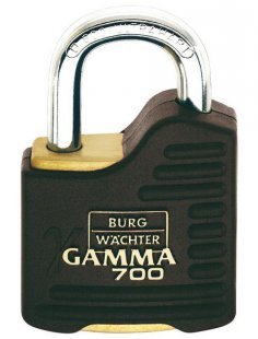 Zylinderschloss »Gamma 700 55 SB«, Zylinder-Vorhangschloss