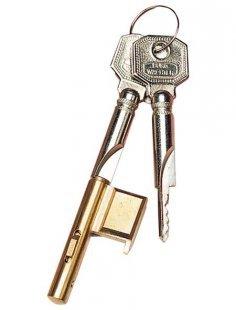 Türzusatzschloss »E 700/3 SB«, Zylinder-Schlüssellochsperrer