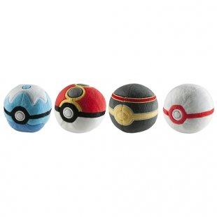 Pokémon - Plüsch-Pokéball, sortiert