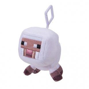 Minecraft - Plüsch-Figur mit Clip, weißes Schaf
