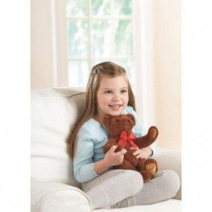 Aninmal Alley - Teddybär mit roter Schleife, ca. 20 cm