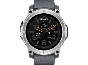 Nixon Smartwatch »Mission«, grau
