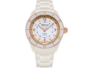 Alpina Watches Smartwatch »Horological Smartwatch Comtesse«, weiß
