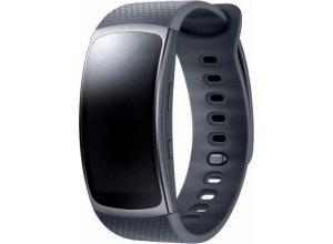 Samsung Gear Fit2 (S) Smartwatch (3,86 cm/1,5 Zoll, Tizen OS), schwarz