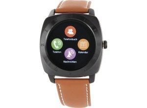 XLYNE Smartwatch »Nara XW Pro Black Chrome«, braun
