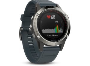 Garmin Smartwatch »fenix 5«, blau