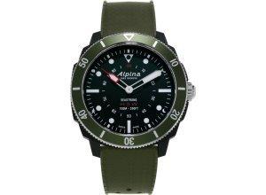 Alpina Watches Smartwatch »Horological Smartwatch Seastrong«, grün
