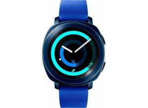 Samsung Gear Sport Smartwatch (3,05 cm/1,2 Zoll, Tizen OS), blau
