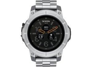 Nixon Smartwatch »Smart Watch Mission SS«, silberfarben