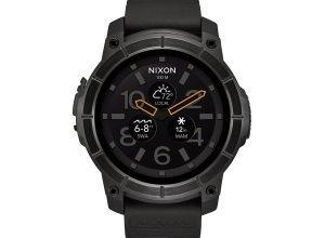 Nixon Smartwatch »Mission«, schwarz