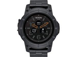 Nixon Smartwatch »Smart Watch Mission SS«, schwarz