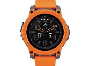 Nixon Smartwatch »Mission«, orange
