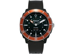 Alpina Watches Smartwatch »Horological Smartwatch Seastrong«, orange