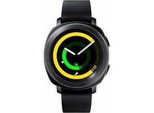 Samsung Gear Sport Smartwatch (3,05 cm/1,2 Zoll, Tizen OS), schwarz