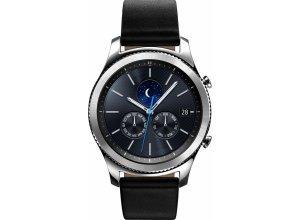 Samsung Gear S3 classic Smartwatch (3,3 cm/1,3 Zoll, Tizen OS), silberfarben