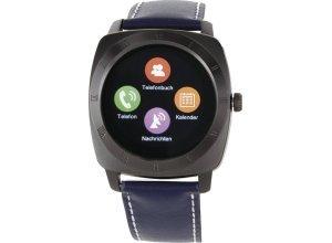 XLYNE Smartwatch »Nara XW Pro Black Chrome«, blau