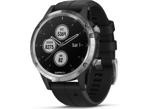 Garmin Smartwatch »fenix 5 Plus«, silberfarben