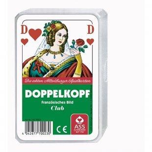 Spielkartenfabrik - Doppelkopf, Franz. Bild, Kunststoffetui