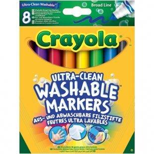Crayola - Einfach auswaschbare Filzstifte, 8-tlg.
