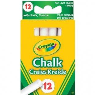 Crayola - Weiße Kreide, 12-tlg.