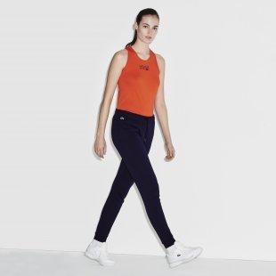 Lacoste Damen-Trainingshose aus Fleece LACOSTE SPORT TENNIS - blau Size 34