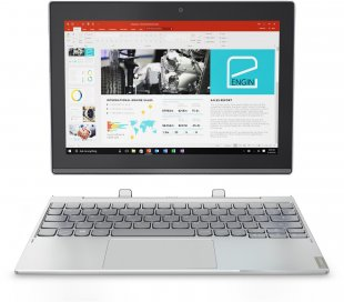 Miix 320-10ICR (80XF0019GE) 25,7cm (10,1´´) 2 in 1 Detachable-Notebook platinum