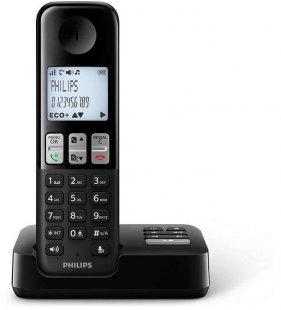 D2351B/38 Schnurlostelefon mit Anrufbeantworter schwarz