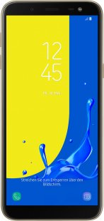 Galaxy J6 Smartphone gold