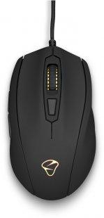 Castor schnurgebundene Maus schwarz