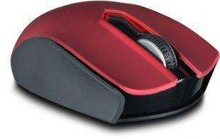 Exati Auto DPI Kabellose Maus schwarz/rot