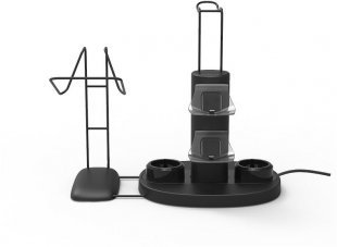 VReady 4-In-1 Charging Station schwarz