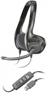 Audio 628 PC-Headset schwarz
