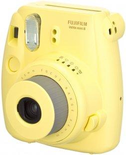 Instax Mini 8 Sofortbildkamera gelb