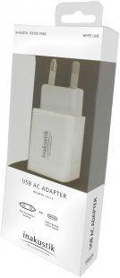 USB AC Adapter USB-Ladegerät weiß