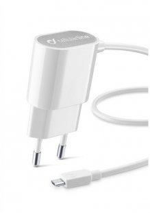Micro-USB-Ladegerät weiß