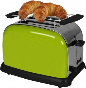 TKG TO 1008 AG Doppelschlitz-Toaster apfelgrün