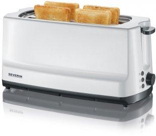 AT 2234 Langschlitz-Toaster weiß/grau