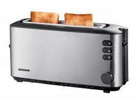 AT 2515 Langschlitz-Toaster edelstahl