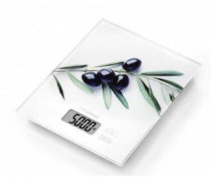 KS 210 Küchenwaage weiß/olive