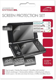 Screen Protection Set Clear 3DS XL