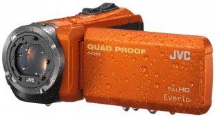 GZ-R315DEU SD Speicherkarten Camcorder orange