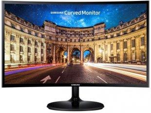 C24F390FHU LED 59 cm (24´´) TFT-Monitor mit LED-Technik schwarz glänzend / A