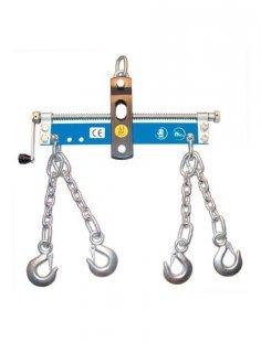 Werkstattkran-Balancer »mit Handkurbel, 4 Ketten mit Sicherheitshaken«