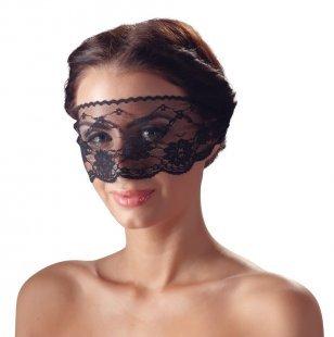 Augenmaske aus transparenter Spitze, zum Zubinden