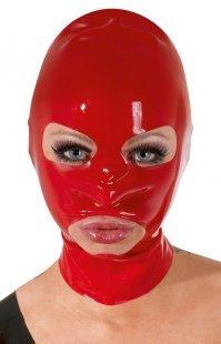 Kopfmaske aus Latex, mit Öffnung für Augen, Mund und Nasenlöcher
